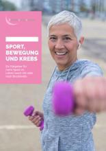 Broschüre Sport, Bewegung und Krebs